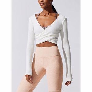 ALO Yoga Amelia Luxe Long Sleeve Crop